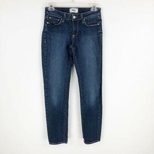 PAIGE Skyline Ankle Jeans Peg Skinny 26 Blue